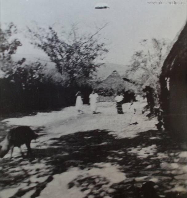 Fotografia Ovni tomada en 1927